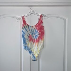 Abercrombie Low Back One Piece Swimsuit